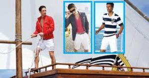 Mornarski stil u muškoj modi na obali mora odlično će vam stajati