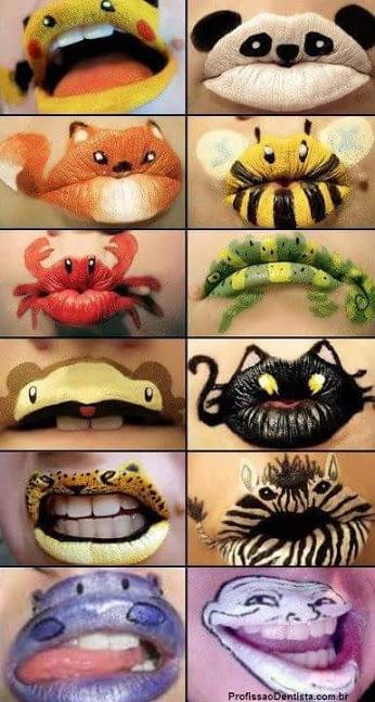 Slike na usnama