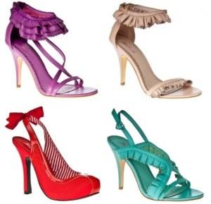 U novogodisnjoj noci mozete obuti sandale koje cete uskladit sa bojama vase odece
