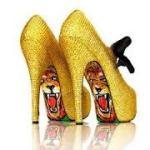 """""""Zlatne"""" cipele za vece..."""