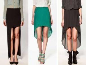 U modi su suknje asimetrične dužine!