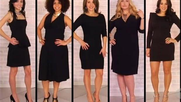 CRNO je vasa omiljena boja! Mala crna haljina za punije osobe
