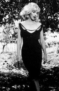 Merilin monro je obožavala malu crnu haljinu