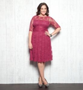 Nežna roze haljina