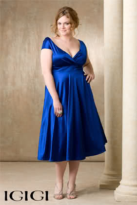 Svečana haljina za puniju osobu!