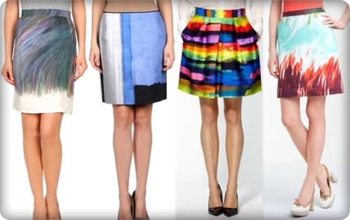 Suknja-slika je u modi
