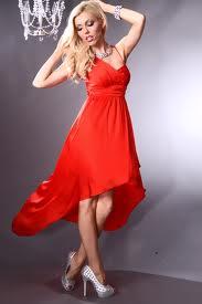 Romanti;na crvena haljina...