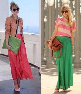 Duga suknja prikriva nedostatke