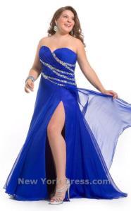 Provokativna večernja haljina savršeno će stajati punijoj osobi