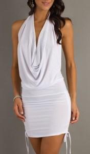 Jednostavno ali efektno-bela haljina