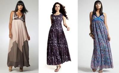 Duge letnje haljine idealne su za punije osobe jer uspešno prikrivaju višak kilograma