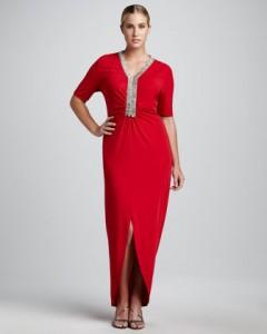Vatreno-crvena haljina za one koje to vole