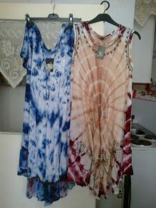 Indijske haljine  idealne za punije,atraktivan dezen prikriva nesavršenost figure,unikati cena 2000  din,tel.064 1727843