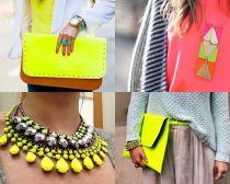 Detalji u neonskim bojama!