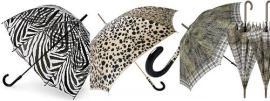 Kišobran u animal printu je jesenji hit,naravno crno-belo