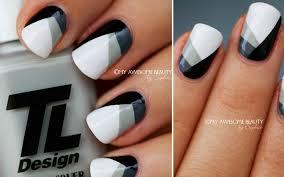 I nokti mogu biti crno beli