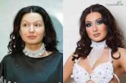 Pre i posle šminkanja,ovako možete i vi  da postignete spektakularan rezultat uz pomoć šminke!
