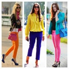 Pantalone u svim bojama