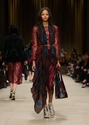 Burberry Prorsum Womenswear Autumn_Winter 2014 - Look 49