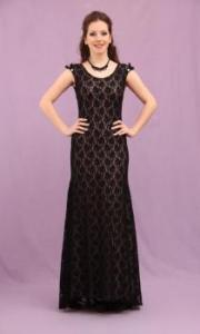 Čipka je u modi-ovakva haljina dobro će stajati malo punijoj devojci