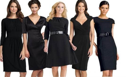 Punije devojke,za vas je najsigurnije da se opredelite za crnu haljinu,svecana je i vizuelno istanjuje figuru!