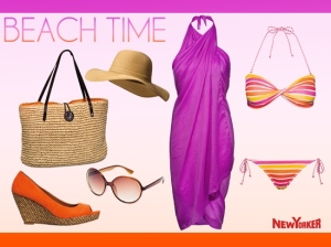 BEACH TIME NEW YORKER SUMMER 2012