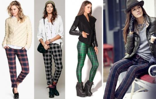 Karirane pantalone su hit