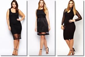 Mala crna haljina sa prozorčićima