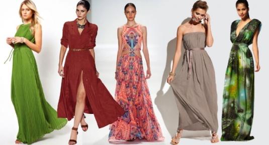 Duge haljine su  savršen izbor