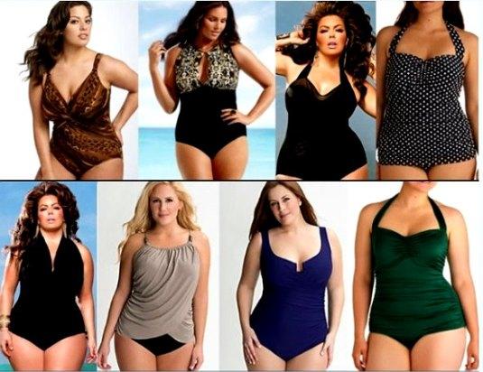Jednodelni kupaći kostim idealan za punije osobe