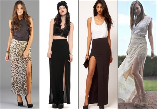 Maxi-Skirt-with-Slit